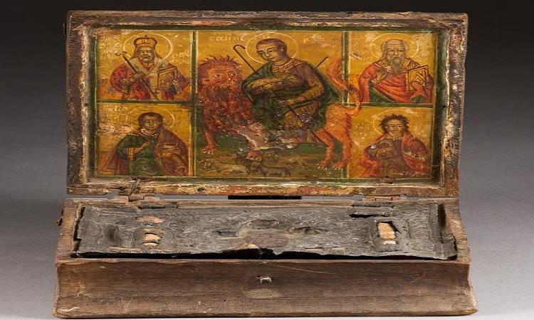 Σε Κυπριακά χέρια η Λειψανοθήκη του Αγίου Μάμαντος