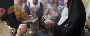 Επαναπατρίσθηκε η λειψανοθήκη του Αγίου Μάμαντος στη Μητρόπολη Μόρφου