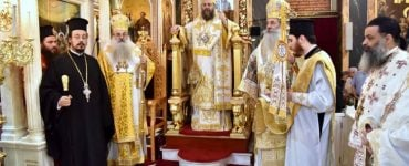 Λαμπρός εορτασμός Αγίων Κωνσταντίνου και Ελένης στον Πειραιά