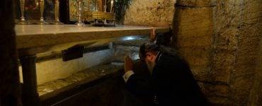 Στους Αγίους Τόπους ο Μητροπολίτης Πατρών Χρυσόστομος (ΦΩΤΟ)