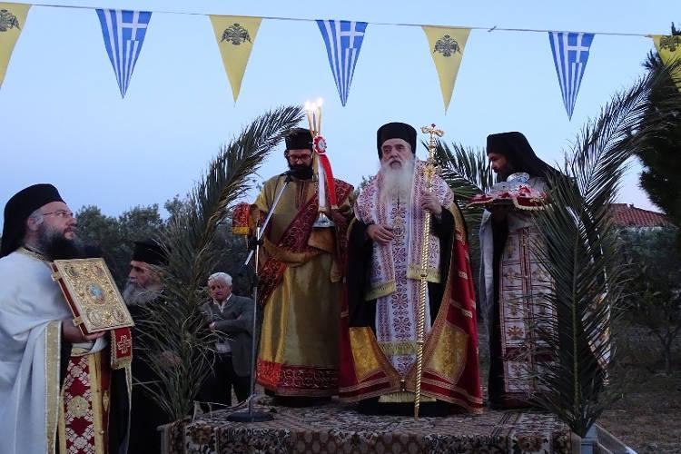 Λαμπρός εορτασμός του Αγίου Νεομάρτυρος Γεωργίου του εκ Χώρας Σάμου