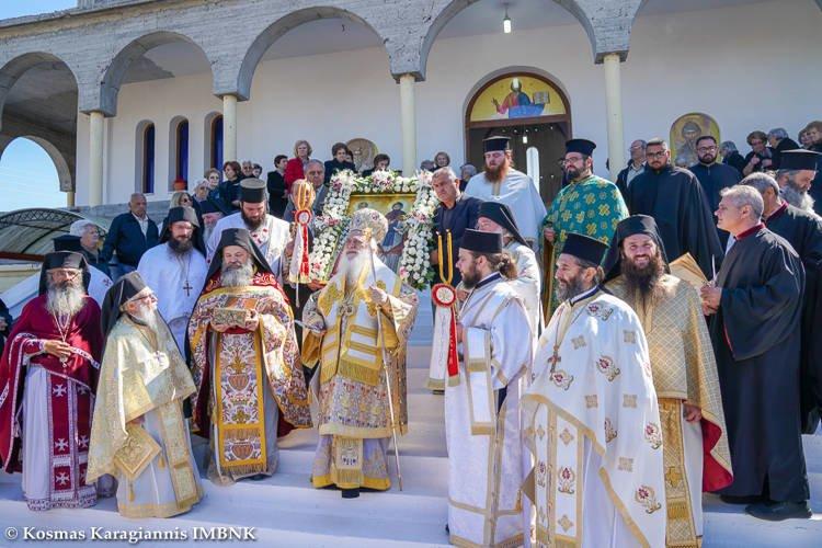 Πανηγύρισε ο υπό ανέγερση Ιερός Ναός Αγίων Κυρίλλου και Μεθοδίου Αλεξανδρείας (ΦΩΤΟ)