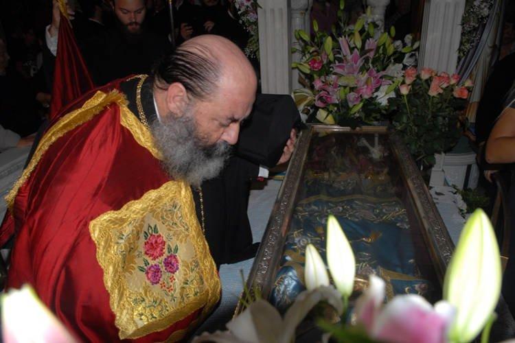 Πανηγυρικός Εσπερινός στο Προσκύνημα του Οσίου Ιωάννου του Ρώσσου (ΦΩΤΟ)