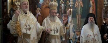 Ο Νέος Αρχιεπίσκοπος Αμερικής στην Μονή του Οσίου Δαυίδ