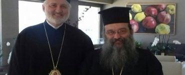 Συνάντηση Χίου Μάρκου με τον Αρχιεπίσκοπο Αμερικής