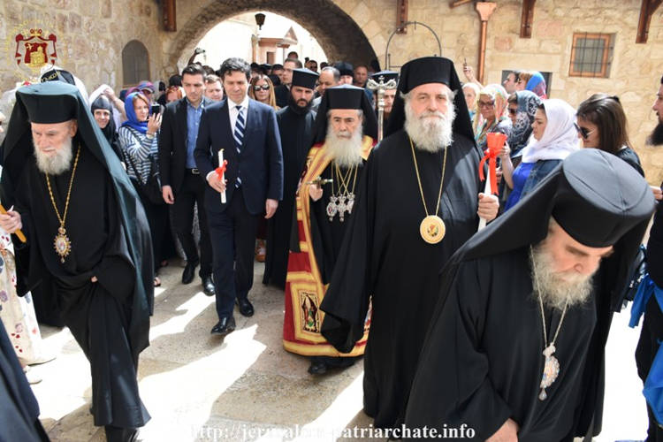 Εορτή της Δευτέρας του Πάσχα στο Πατριαρχείο Ιεροσολύμων