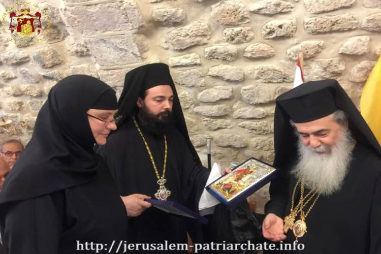 Η Κυριακή των Μυροφόρων στο Πατριαρχείο Ιεροσολύμων