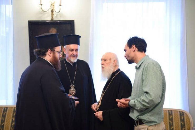 Αντιπροσωπεία του Οικουμενικού Πατριαρχείου στην Ουκρανία