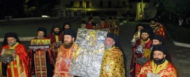 Υποδοχή Ιερών Λειψάνων στη Νέα Ιωνία (ΦΩΤΟ)
