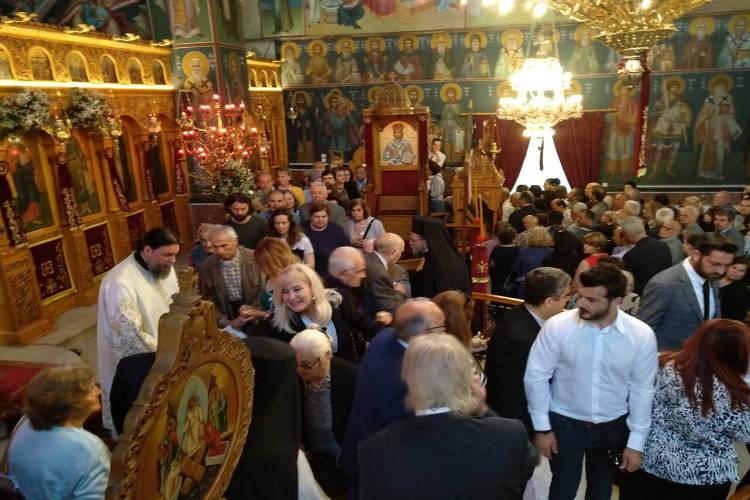 Εορτή των Αγίων Κωνσταντίνου και Ελένης στη Νέα Ιωνία (ΦΩΤΟ)