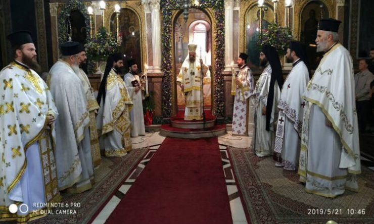 Πανηγύρισε ο Μητροπολιτικός Ναός της Καρδίτσας (ΦΩΤΟ)