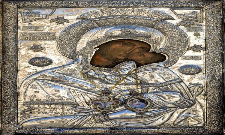 Λιτανεία Eικόνας Παναγίας Ζιδανιώτισσας στην Κοζάνη