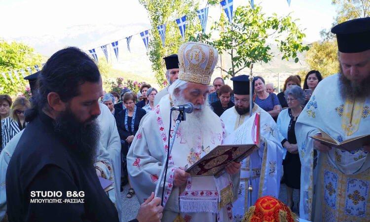 Τα Εγκαίνια του Ιερού Ναού Αγίων Ραφαήλ Νικολάου και Ειρήνης στη Φρέγκαινα Άργους