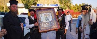 Το Ναύπλιο υποδέχτηκε την Εικόνα της Παναγίας της Βηματάρισσας