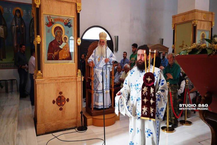 Αρχιερατική θεία λειτουργία στον Άγιο Λουκά Ναυπλίου (ΦΩΤΟ)