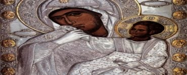 Αντίγραφο Παναγίας Παραμυθίας στην Επίδαυρο