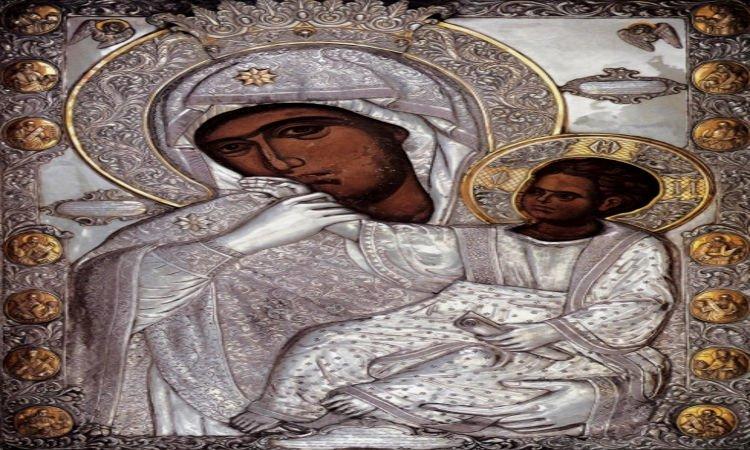 Αντίγραφο Παναγίας Παραμυθίας στην Επίδαυρο Η Θαυματουργή Εικόνα Παναγίας Παραμυθίας στην Κίσαμο