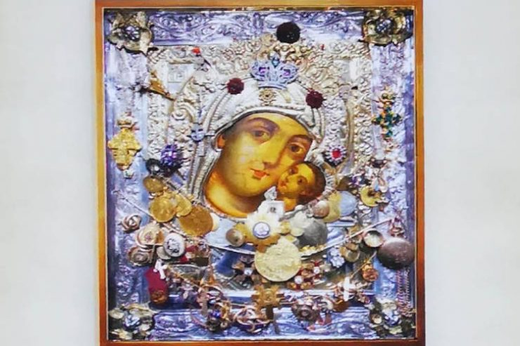 Η Παναγία η Βηματάρισσα από το Άγιον Όρος στο Ναύπλιο