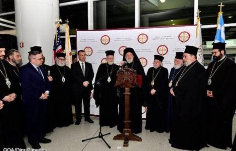 Έφτασε στη Νέα Υόρκη ο Αρχιεπίσκοπος Αμερικής Ελπιδοφόρος (ΒΙΝΤΕΟ)
