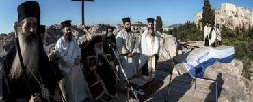 Στον ιερό Βράχο του Αρείου Πάγου τίμησε η Εκκλησία της Ελλάδος τον ιδρυτή της