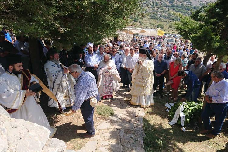 Η εορτή του Αγίου Πνεύματος στη Μητρόπολη Αρκαλοχωρίου
