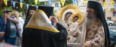 Ο Βόλος υποδέχτηκε την Παναγία του Όρους των Ελαιών (ΦΩΤΟ)