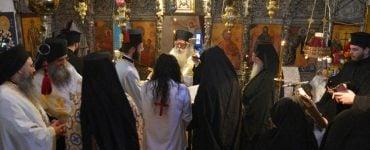Κουρά νέας Μοναχής στη Μονή Παναγίας Λαμπηδόνος