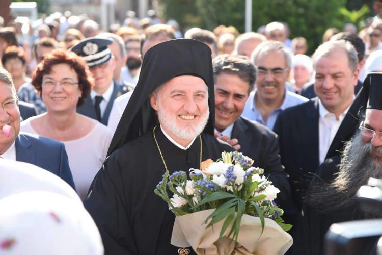 Ο Αρχιεπίσκοπος Αμερικής στη Νέα Πέλλα (ΦΩΤΟ)