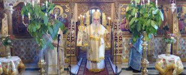 Κυριακή της Πεντηκοστής στον Μητροπολιτικό Ναό Καστοριάς (ΦΩΤΟ)