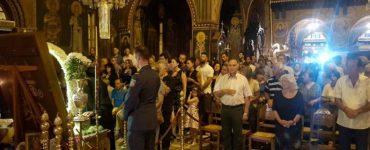 Πλήθος πιστών στην Κόρινθο για την Αγία Ζώνη