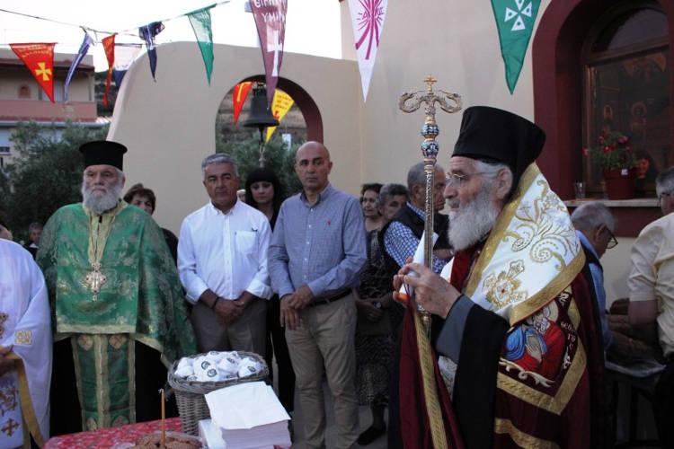 Εορτή Οσίου Παϊσίου Παναγή Μπασιά στη Λέρο