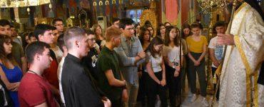 Εσπερινή Θεία Λειτουργία για του μαθητές στη Μητρόπολη Μαρωνείας (ΦΩΤΟ)