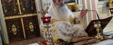 Αρχαιοπρεπή Θεία Λειτουργία τέλεσε ο Πειραιώς Σεραφείμ