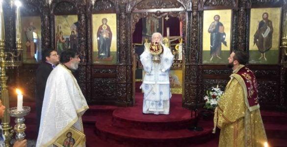 Εορτή Αγίας Πεντηκοστής στη Μητρόπολη Παραμυθίας