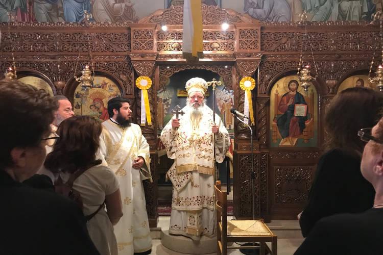 Εορτή Παναγίας Άξιον Εστί στη Μητρόπολη Πατρών