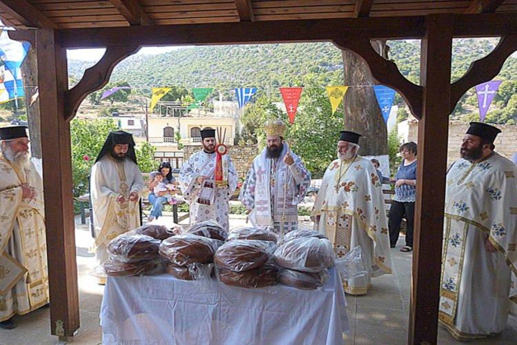 Εορτή Αναλήψεως του Κυρίου στη Μητρόπολη Πέτρας