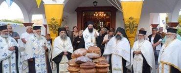 Η Εορτή της Παναγίας Άξιον Εστί στη Μητρόπολη Πέτρας