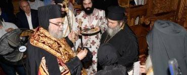 Ενθρόνιση Ηγουμένης Μονής Παναγίας Παντανάσσης Κοτσιάτη
