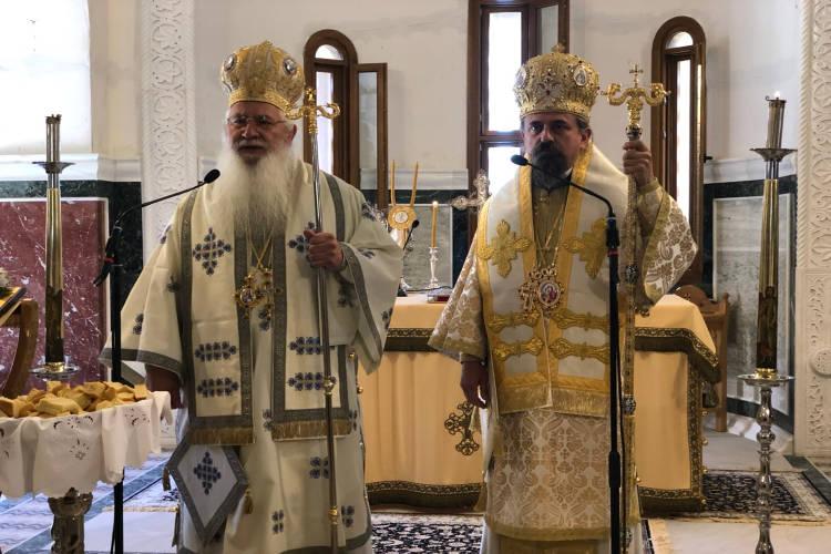 Εορτή της Αναλήψεως του Κυρίου στη Μητρόπολη Θηβών