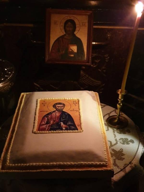 Αγρυπνία Αγίου Αποστόλου Ιούδα του Θαδδαίου στην Καρδίτσα (ΦΩΤΟ)