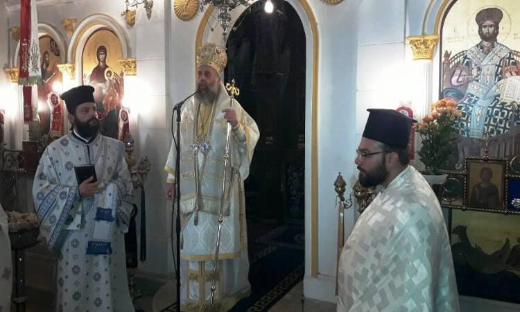 Ο Θεσσαλιώτιδος Τιμόθεος στους Αγίους Θεοδώρους Μαγουλάδων Κερκύρας (ΦΩΤΟ)