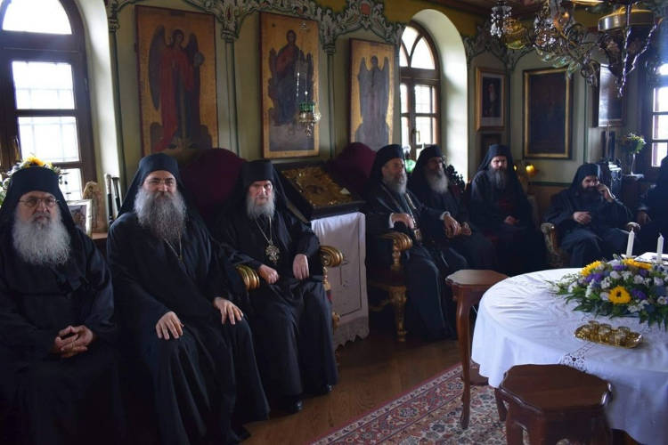 Εορτή Αναλήψεως του Κυρίου στη Μονή Εσφιγμένου Αγίου Όρους (ΦΩΤΟ)