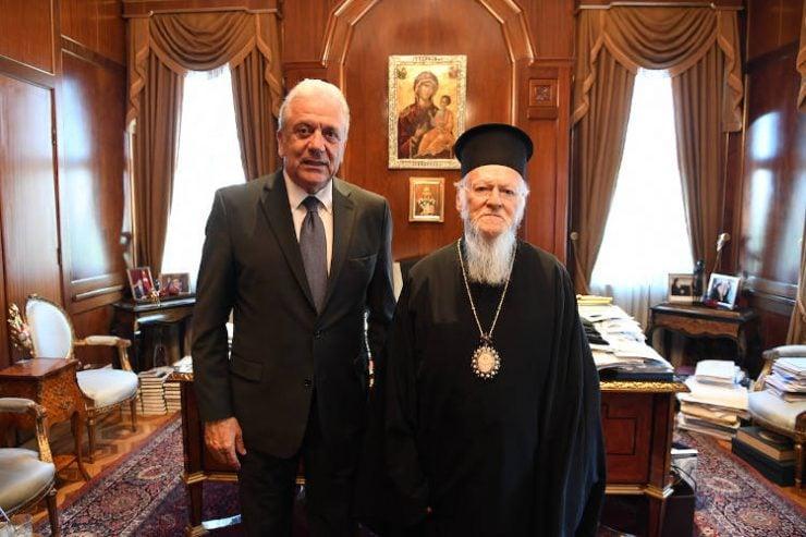 Ο Δημήτριος Αβραμόπουλος στο Φανάρι (ΦΩΤΟ)