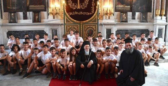 Εορτή του Αγίου Πνεύματος στο Οικουμενικό Πατριαρχείο (ΦΩΤΟ)