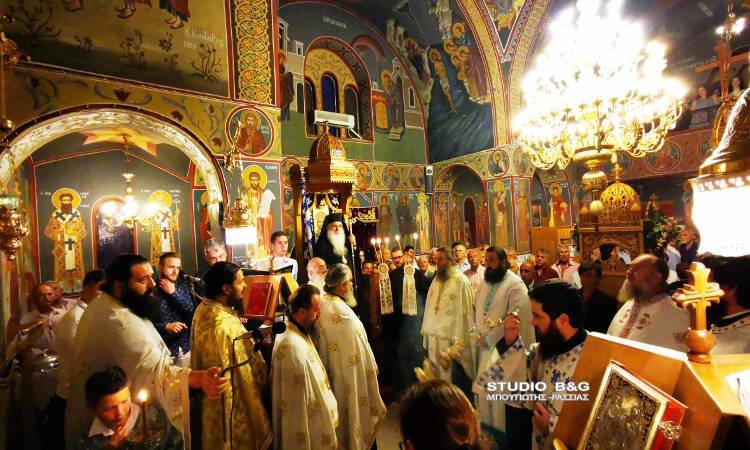 Εορτή Αγίας Μαρίνης στη Μητρόπολη Αργολίδος (ΦΩΤΟ)