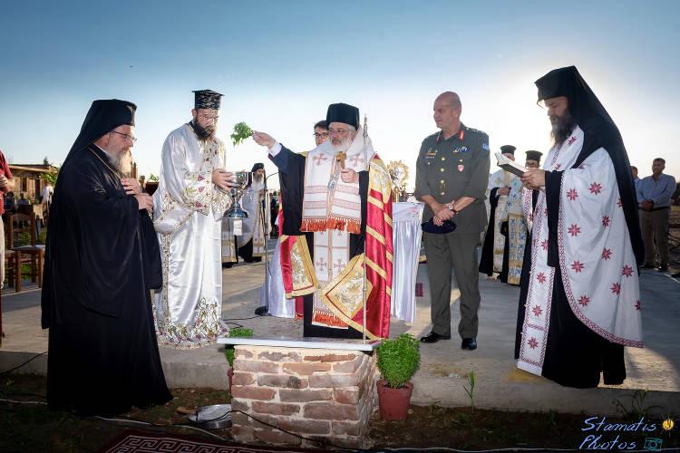 Θεμελίωση ναού Οσίου Παϊσίου στη Μητρόπολη Διδυμοτείχου