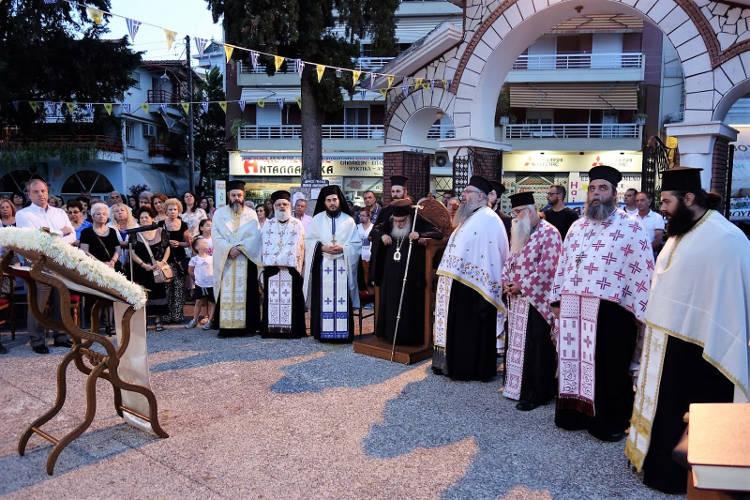 Αρχιερατικός Εσπερινός Αγίου Παϊσίου στα Γιαννιτσά (ΦΩΤΟ)