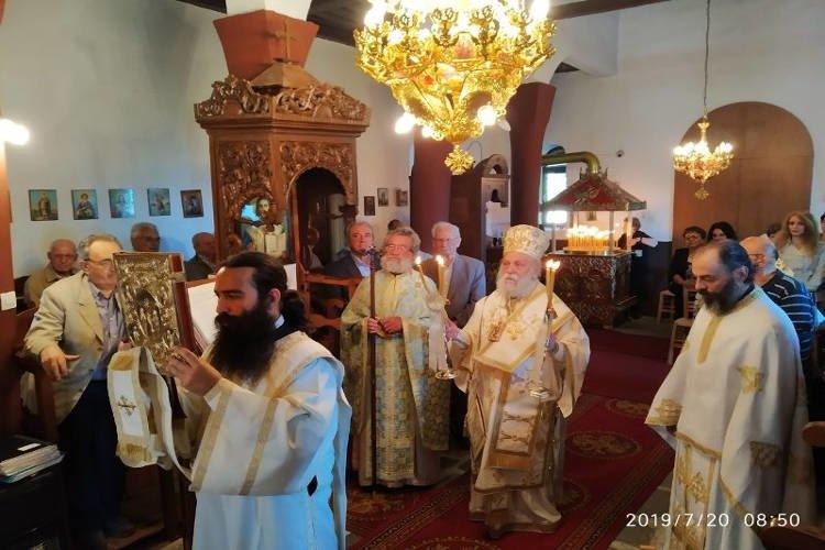 Εορτή Προφήτη Ηλία στη Μητρόπολη Γρεβενών