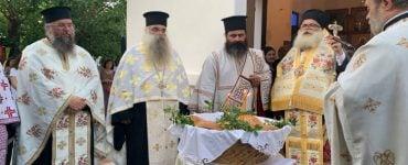 Πλήθος πιστών για την εορτή της Αγίας Μαρίνας Καλογέρων Ιεράπετρας