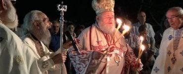 Νυχτερινή Αρχιερατική Θεία Λειτουργία Προφήτου Ηλιού στη Μητρόπολη Κυδωνίας